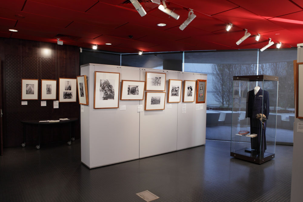 Photographic documentation of Indigenous Australians at War exhibition, held at the Shrine of Remembrance, 2010