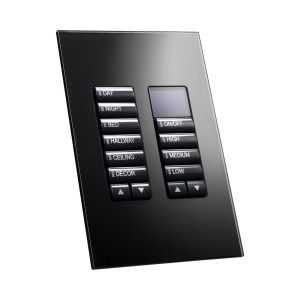 product_lightmoves_lighting_control_panels_philips_dynalite_revolution_series_dr2p_product - dr2p black glass