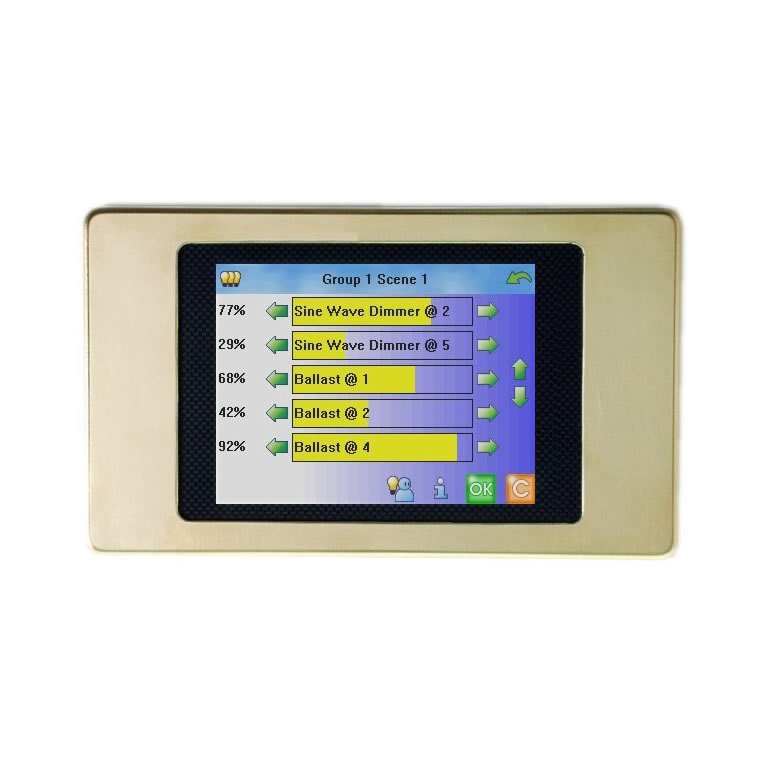 Helvar LCD TouchPanel (924)