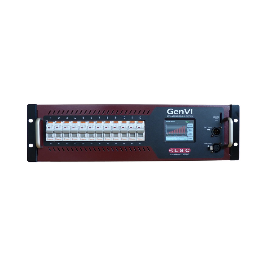LSC GenVI Rack-Mount Dimmer