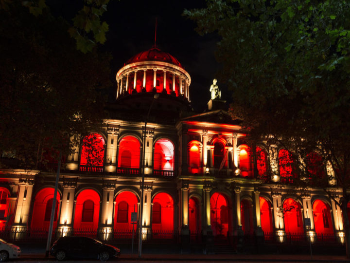 Lighting the Victorian Supreme Court for its 175th Anniversary – Resolution X