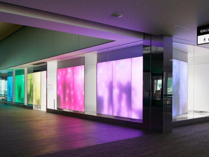 Lightmoves now demonstrating Luminous Textile Panels