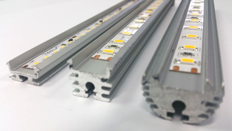 Extrusion Heatsink for LED strip - LED tape