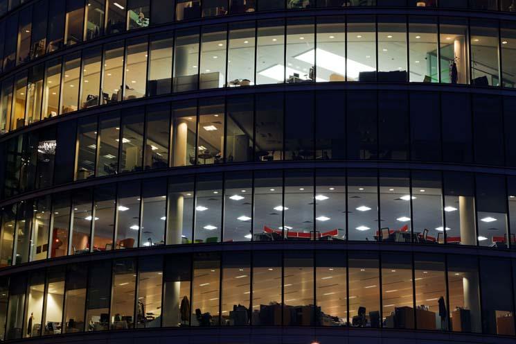 Lighting Sensors - Network Sensors - Office Building
