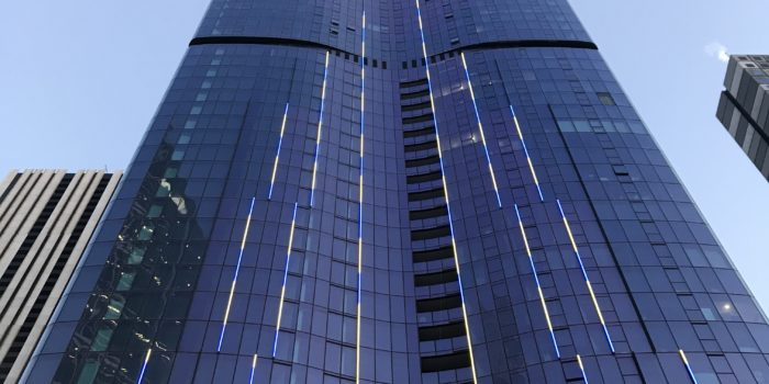 Aurora Tower Façade Lighting