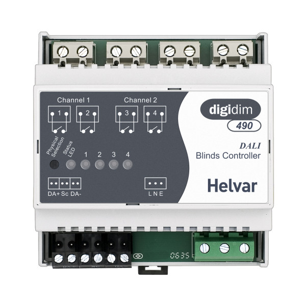 Helvar 490 Blinds Controller 2Ch